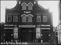 Donated picture of Kensington Cinema date c1931